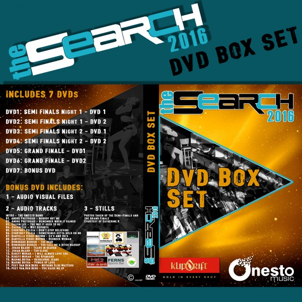 The Search 2016 - DVD Box Set