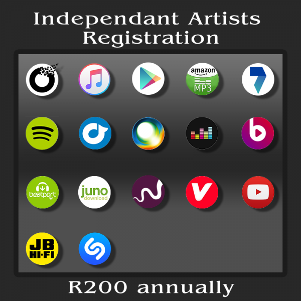 Independant Artists - Registration Fee