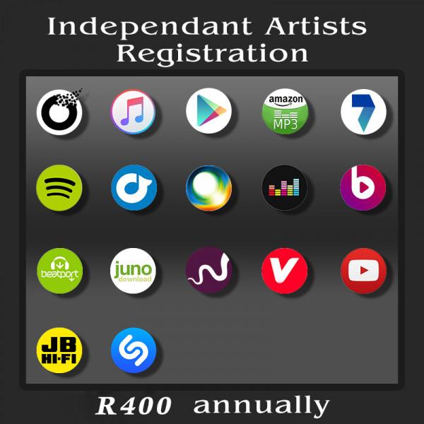 Independant Artists - Registration Fee